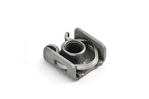 No-Lug Clip-Retained Nutplate